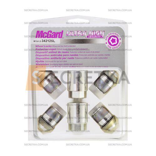 Гайки секретные McGard М12Х1,5Х35 Конус (34212SL)