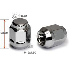 Гайка колесная M12x1,5x35 Конус (K 901445 Cr)