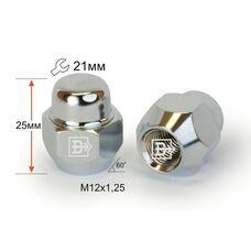 Гайка колесная M12x1,25x25 Конус (K 701144 Cr)